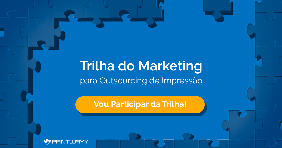 Convite para participar da trilha do marketing.