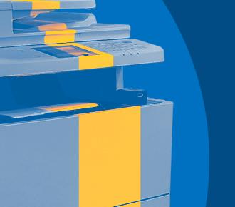 Imagem de uma impressora multifuncional ilustrando a manutenção preventiva em impressoras.