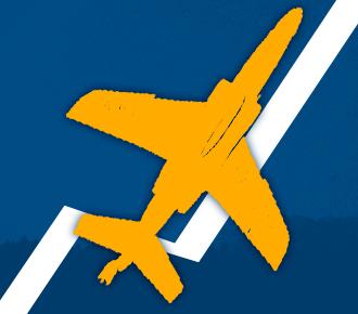Ilustração de um gráfico de crescimento com um homem de braço erguido e um avião subindo. Representa o crescimento que um software de gestão de outsourcing proporciona.