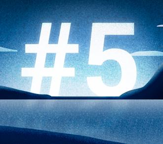Ilustração para a publicação que fla sobre 5 funcionalidades do PrintWayy. É um vale com um lago e montanhas.
